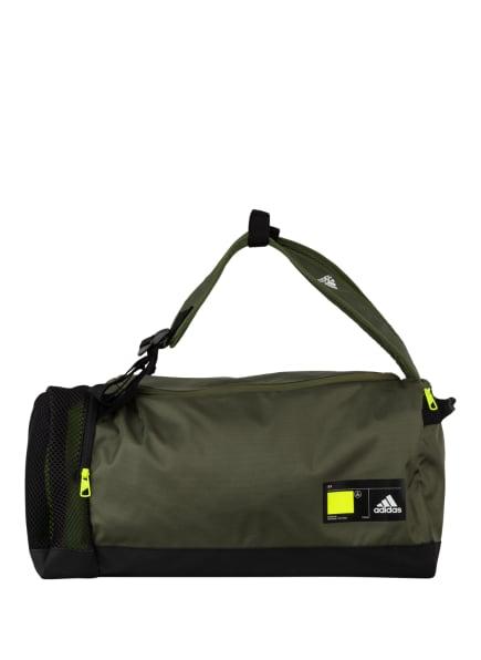 adidas Sporttasche 4ATHLTS ID DU M, Farbe: GRÜN/ SCHWARZ (Bild 1)