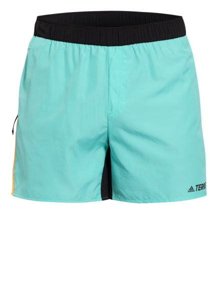 adidas Laufshorts TERREX TRAIL, Farbe: MINT/ SCHWARZ (Bild 1)