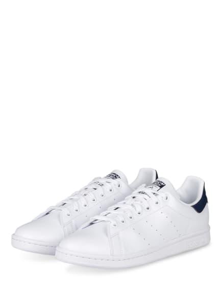 adidas Originals Sneaker STAN SMITH, Farbe: WEISS/ DUNKELBLAU (Bild 1)