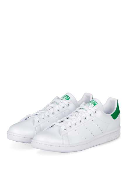 adidas Originals Sneaker STAN SMITH, Farbe: WEISS/ GRÜN (Bild 1)