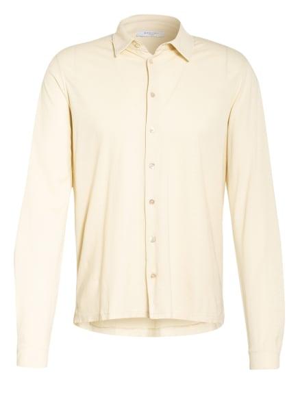 BOGLIOLI Jerseyhemd Slim Fit, Farbe: HELLGELB (Bild 1)
