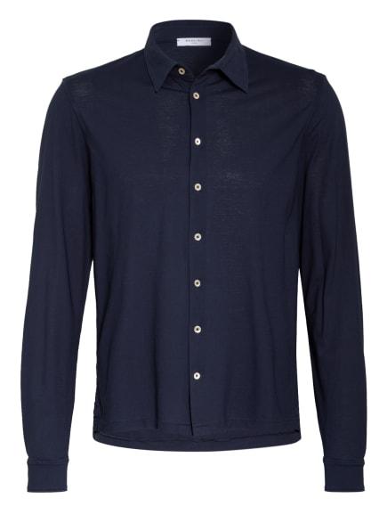 BOGLIOLI Jerseyhemd Slim Fit, Farbe: DUNKELBLAU (Bild 1)