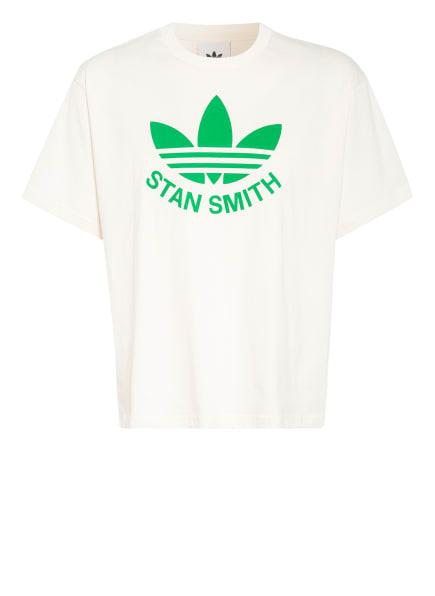adidas Originals T-Shirt, Farbe: ECRU/ GRÜN (Bild 1)
