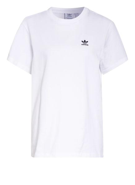 adidas Originals T-Shirt LOUNGEWEAR ADICOLOR CLASSICS, Farbe: WEISS (Bild 1)