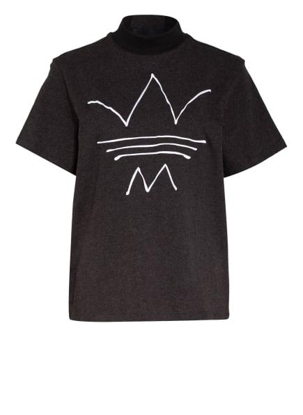 adidas Originals T-Shirt R.Y.V., Farbe: DUNKELGRAU/ SCHWARZ (Bild 1)