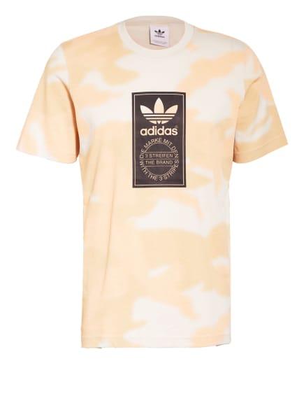 adidas Originals T-Shirt , Farbe: HELLORANGE/ CREME/ CAMEL (Bild 1)