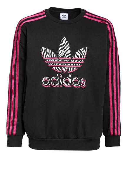 adidas Originals Sweatshirt, Farbe: SCHWARZ/ FUCHSIA/ WEISS (Bild 1)