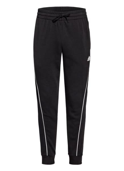 adidas Sweatpants ESSENTIALS, Farbe: SCHWARZ/ WEISS (Bild 1)
