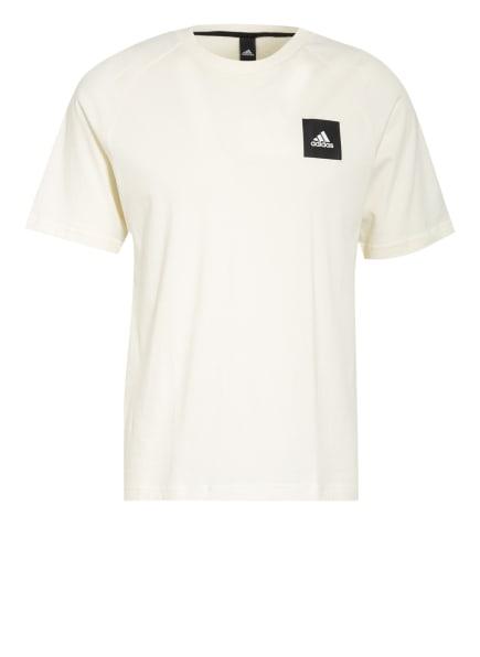 adidas T-Shirt MUST HAVES STADIUM mit Mesh-Einsatz , Farbe: ECRU (Bild 1)