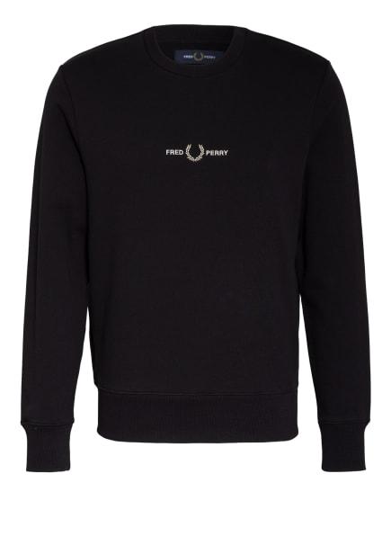 FRED PERRY Sweatshirt , Farbe: SCHWARZ (Bild 1)