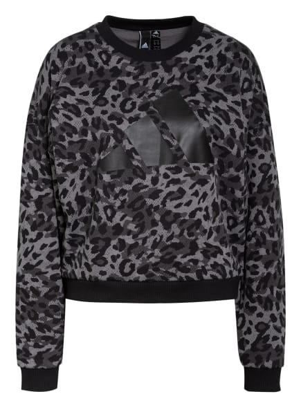 adidas Sweatshirt , Farbe: SCHWARZ/ GRAU/ DUNKELGRAU (Bild 1)