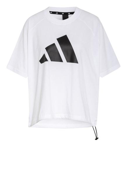 adidas T-Shirt SPORTSWEAR ADJUSTABLE BADGE OF SPORT, Farbe: WEISS (Bild 1)
