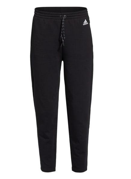 adidas 7/8-Sweatpants SPORTSWEAR, Farbe: SCHWARZ (Bild 1)