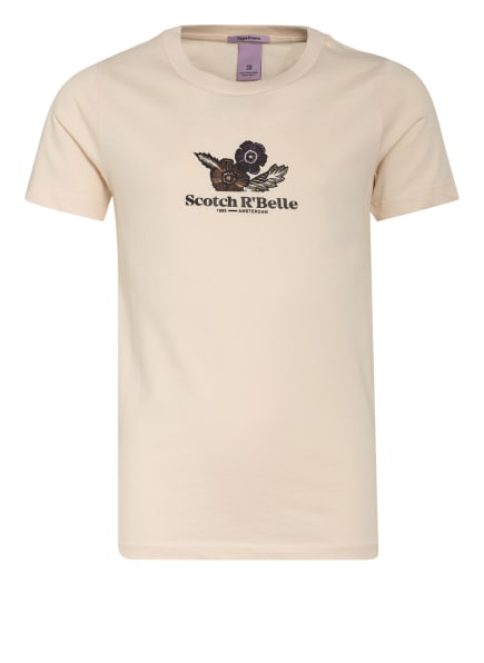 SCOTCH R'BELLE T-Shirt, Farbe: CREME (Bild 1)