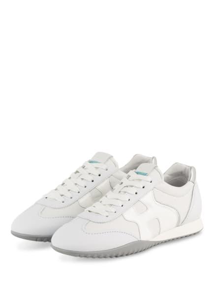 HOGAN Sneaker OLYMPIA, Farbe: WEISS/ PLATIN (Bild 1)
