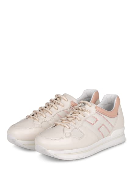 HOGAN Plateau-Sneaker, Farbe: CREME/ NUDE (Bild 1)