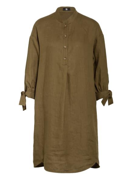RIANI Kleid aus Leinen, Farbe: OLIV (Bild 1)
