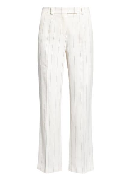 RIANI Hose mit Leinen, Farbe: ECRU/ SCHWARZ (Bild 1)