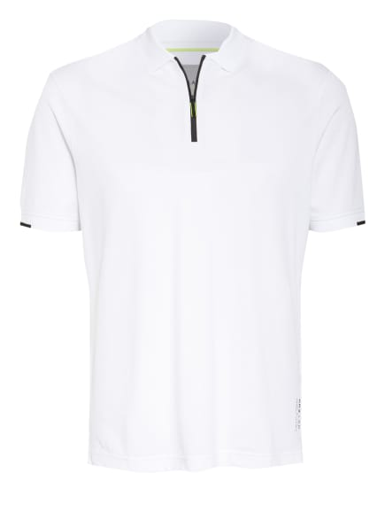 BRAX Piqué-Poloshirt PERCY, Farbe: WEISS (Bild 1)