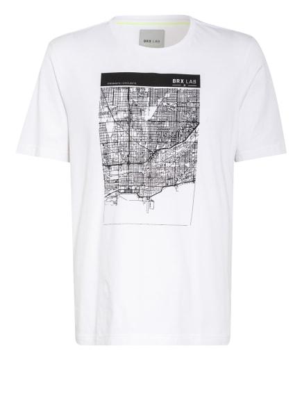 BRAX T-Shirt, Farbe: WEISS/ SCHWARZ (Bild 1)