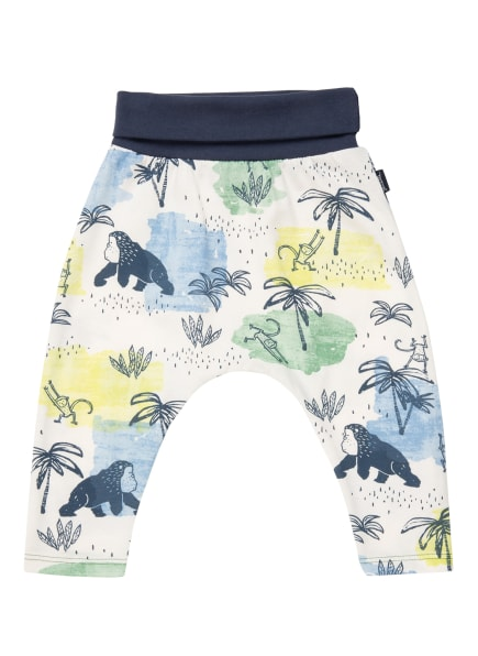 Sanetta KIDSWEAR Sweatpants, Farbe: WEISS/ HELLBLAU/ HELLGRÜN (Bild 1)