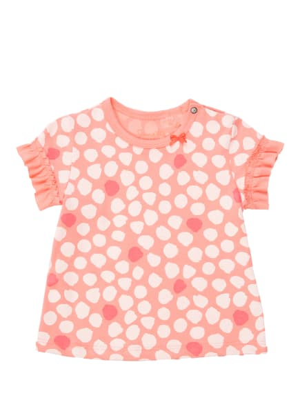 Sanetta KIDSWEAR T-Shirt, Farbe: HELLORANGE/ WEISS (Bild 1)