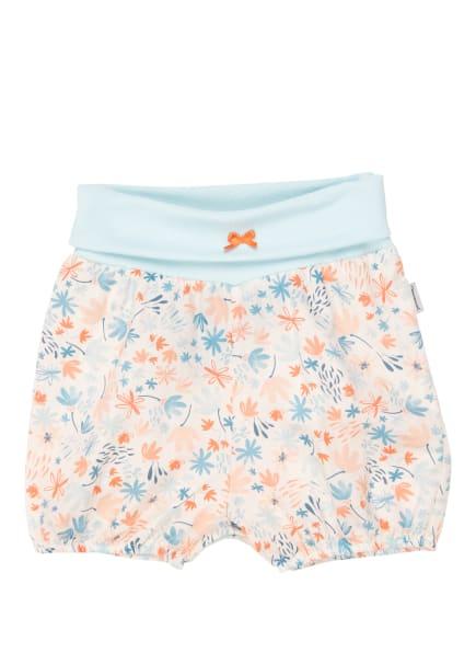 Sanetta KIDSWEAR Shorts, Farbe: HELLBLAU/ WEISS/ ORANGE (Bild 1)