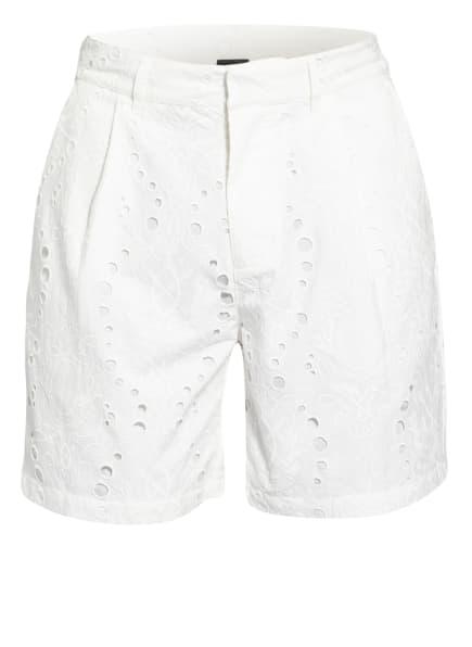 DAILY PAPER Shorts mit Stickereien, Farbe: WEISS (Bild 1)