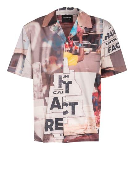 DAILY PAPER Resorthemd Regular Fit, Farbe: ALTROSA/ DUNKELGELB/ ROSÉ (Bild 1)