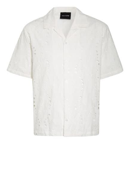 DAILY PAPER Resorthemd Comfort Fit aus Lochspitze, Farbe: WEISS (Bild 1)