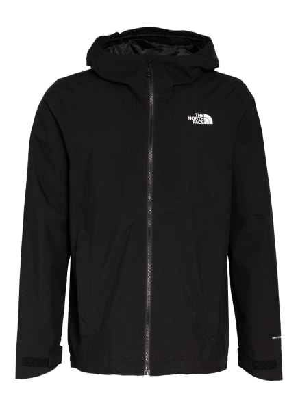 THE NORTH FACE Outdoor-Jacke CAMPAY SHELL, Farbe: SCHWARZ/ WEISS (Bild 1)