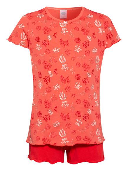 Sanetta Shorty-Schlafanzug, Farbe: ORANGE (Bild 1)