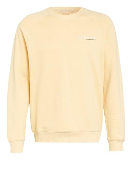 SCOTCH & SODA Sweatshirt, Farbe: GELB (Bild 1)