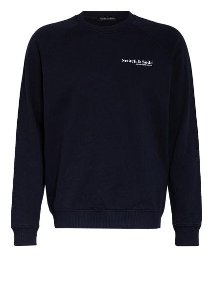 SCOTCH & SODA Sweatshirt, Farbe: DUNKELBLAU (Bild 1)