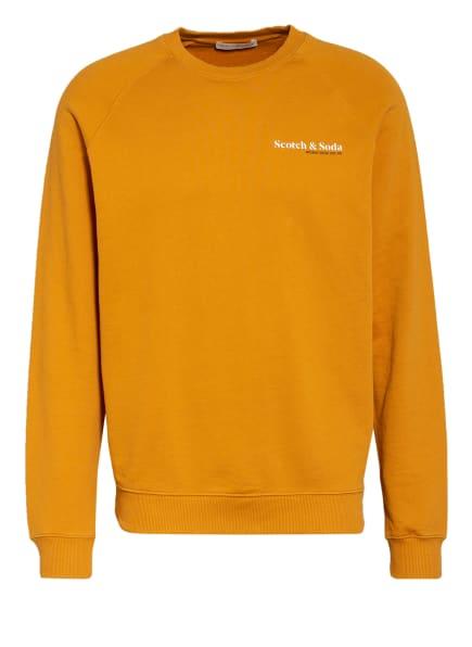 SCOTCH & SODA Sweatshirt, Farbe: ORANGE (Bild 1)