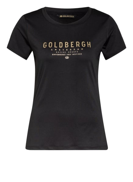 GOLDBERGH T-Shirt DAISY, Farbe: SCHWARZ/ GOLD (Bild 1)