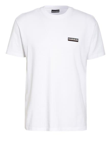 NAPAPIJRI T-Shirt PATCH, Farbe: WEISS (Bild 1)