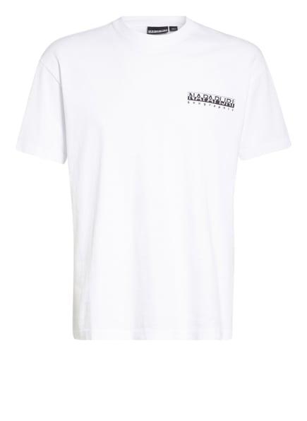 NAPAPIJRI T-Shirt HAENA, Farbe: WEISS/ SCHWARZ (Bild 1)