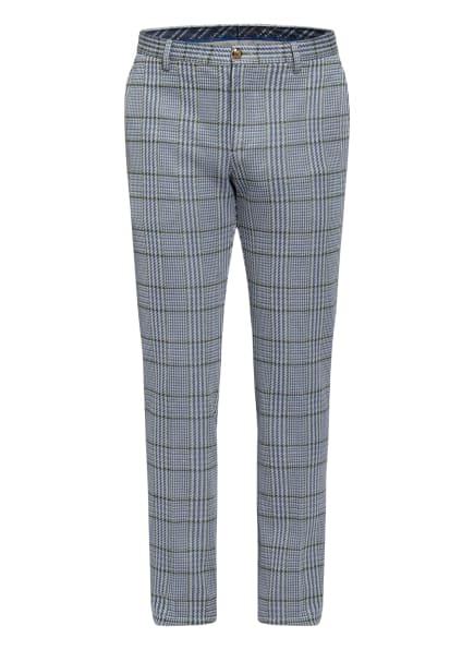 ETRO Anzughose Skinny Fit, Farbe: WEISS/ BLAU/ GRÜN (Bild 1)
