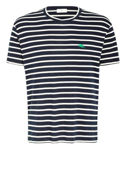 ETRO T-Shirt, Farbe: DUNKELBLAU/ CREME (Bild 1)