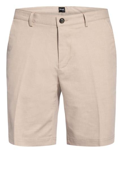 BOSS Chino-Shorts SLICE Slim Fit, Farbe: BEIGE (Bild 1)