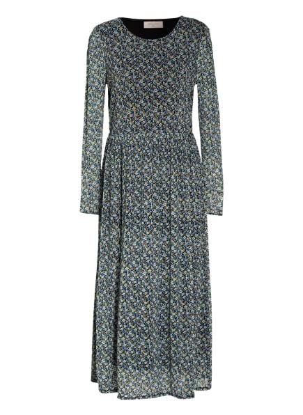 FREEQUENT Kleid FQLUMI, Farbe: SCHWARZ/ HELLBLAU/ BLAU (Bild 1)