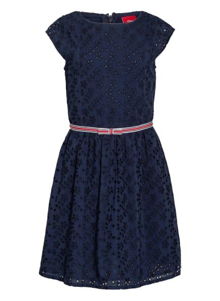 s.Oliver RED Kleid, Farbe: DUNKELBLAU (Bild 1)