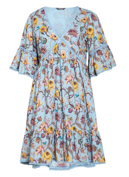 Princess GOES HOLLYWOOD Kleid mit Spitzeneinsatz, Farbe: HELLBLAU/ GELB/ PINK (Bild 1)