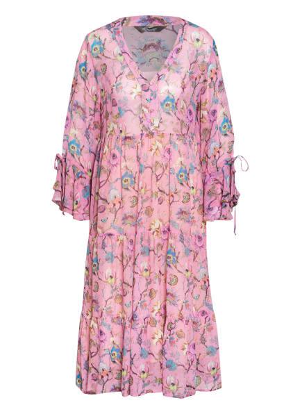 Princess GOES HOLLYWOOD Kleid mit 3/4-Arm, Farbe: ROSA/ TÜRKIS/ NEONORANGE (Bild 1)