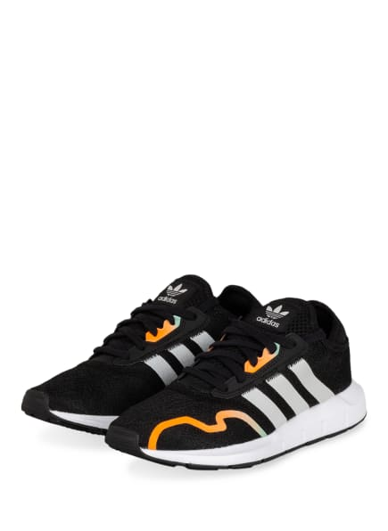 adidas Originals Sneaker SWIFT RUN X, Farbe: SCHWARZ/ ORANGE (Bild 1)