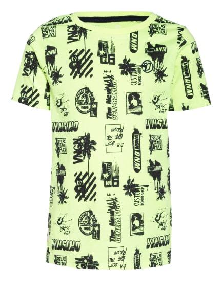 VINGINO T-Shirt HOZAN, Farbe: NEONGELB/ SCHWARZ (Bild 1)