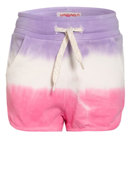 VINGINO Shorts ROSE, Farbe: HELLLILA/ WEISS/ ROSA (Bild 1)