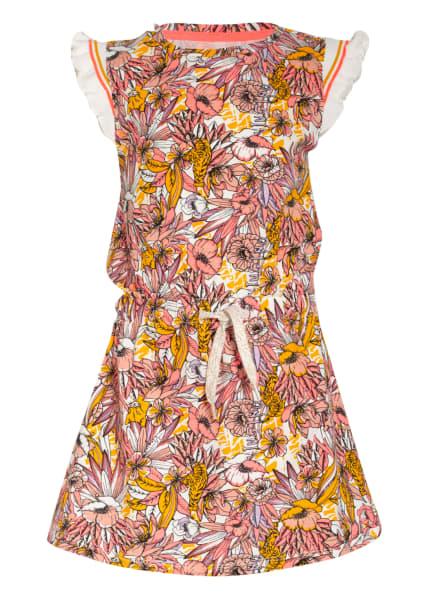 VINGINO Kleid PATTY mit Rüschenbesatz, Farbe: DUNKELGELB/ ROSÉ/ NEONROSA (Bild 1)