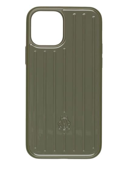 RIMOWA Smartphone-Hülle GROOVE, Farbe: OLIV (Bild 1)